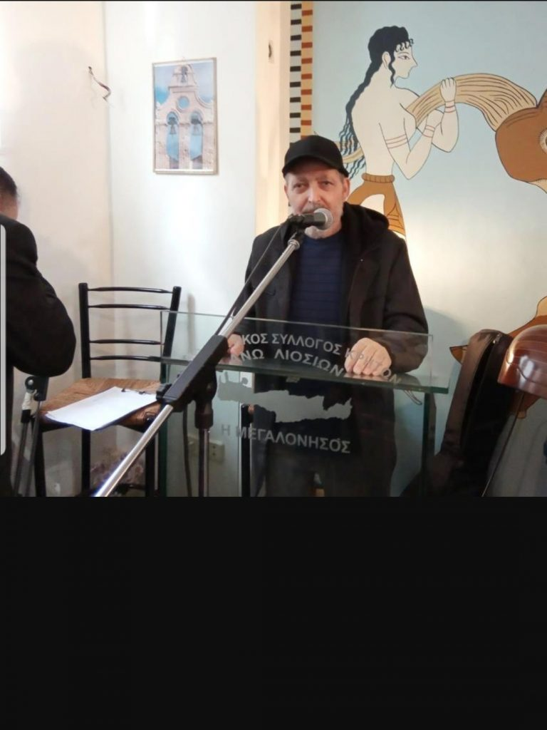 «Έσβησε» ο Βασίλης Στεφανουδάκης, βυθίζοντας στο πένθος την τοπική κοινωνία