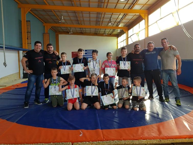 Νέες επιτυχίες για τους παλαιστές του Δ.Α.Σ. Ζεφυρίου στο Παιδικό Αναπτυξιακό Τουρνουά Πάλης!
