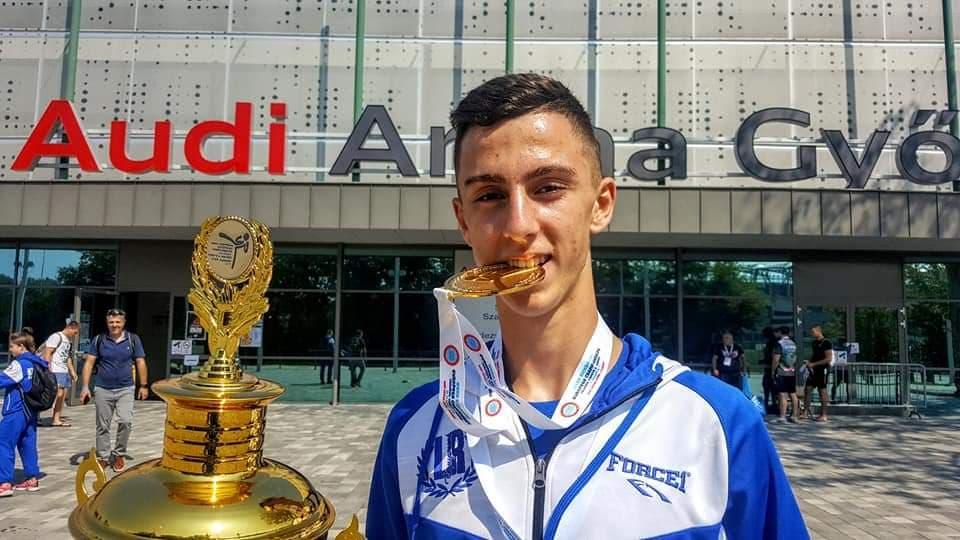 Πρωταθλητής Ευρώπης ο Αλέξανδρος Λαζαρίδης της BG Kickboxing Academy!