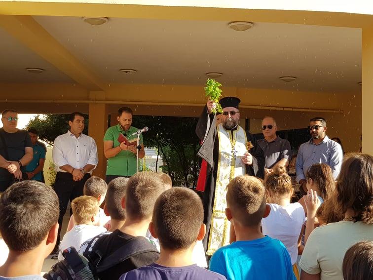 Ήχησε χαρμόσυνα το πρώτο κουδούνι στα σχολεία του Ζεφυρίου!