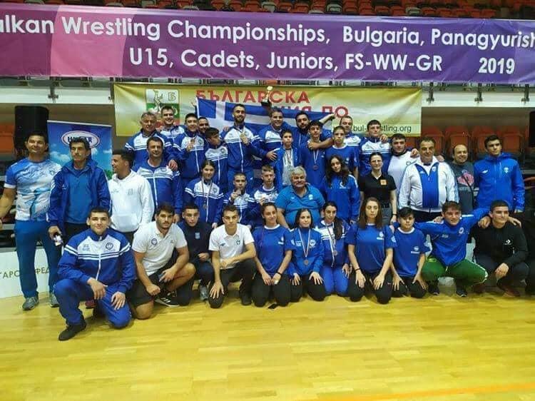 Θρίαμβος των Ευπυρίδων, στο Βαλκανικό Πρωτάθλημα! – Μεγάλη νικήτρια η ελληνική Πάλη!