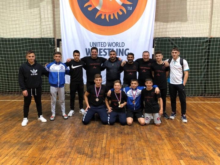 Μεγάλες επιτυχίες για τον Δ.Α.Σ. Ζεφυρίου και την ελληνική αποστολή, στο Διεθνές Τουρνουά Πάλης της Σερβίας!