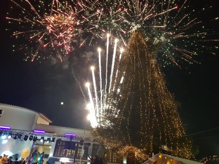 «Παραμυθένια» η φωταγώγηση του Χριστουγεννιάτικου Δέντρου της Δημοτικής Ενότητας Φυλής
