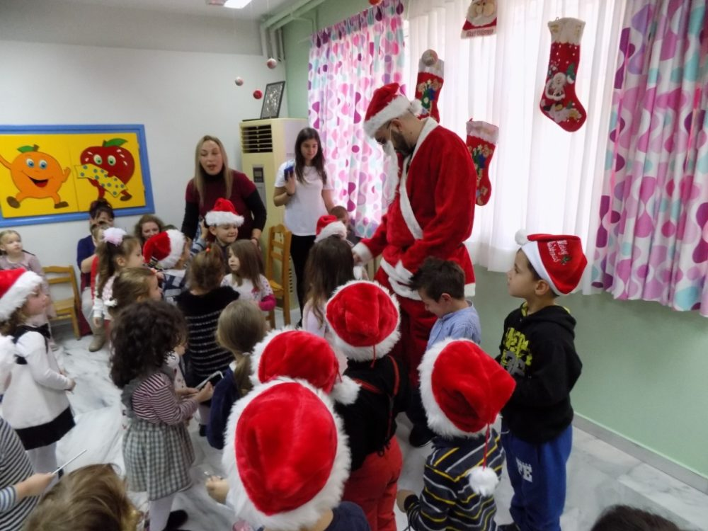 Δώρα, εκπλήξεις και πολλά χαμόγελα στις Χριστουγεννιάτικες γιορτές των Παιδικών Σταθμών Ζεφυρίου