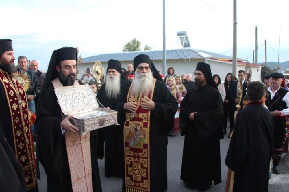 Μεγαλόπρεπη η υποδοχή των Τίμιων Δώρων στον Ι.Ν. Αγίου Νεκταρίου Άνω Λιοσίων