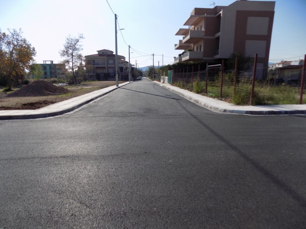 Ολοκληρώθηκε το έργο της διάνοιξης νέων οδών στη Δροσούπολη