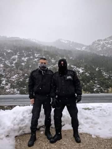 Σημαντική η συνδρομή της Δημοτικής Αστυνομίας Φυλής στην αντιμετώπιση προβλημάτων από τα έντονα καιρικά φαινόμενα στην Πάρνηθα