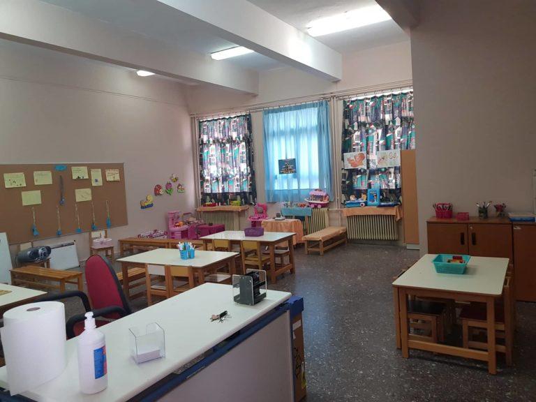 Νέα αίθουσα διδασκαλίας για τους μαθητές του 2ου Νηπιαγωγείου Ζεφυρίου!