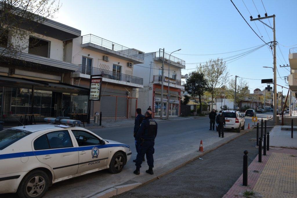Ασφυκτικοί έλεγχοι τήρησης των περιοριστικών μέτρων κυκλοφορίας στον Δήμο Φυλής