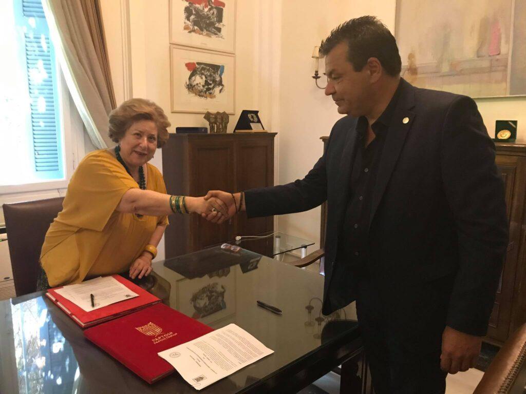 Σύμφωνο συνεργασίας με το Πάντειο Πανεπιστήμιο σύναψε ο Δήμος Φυλής!