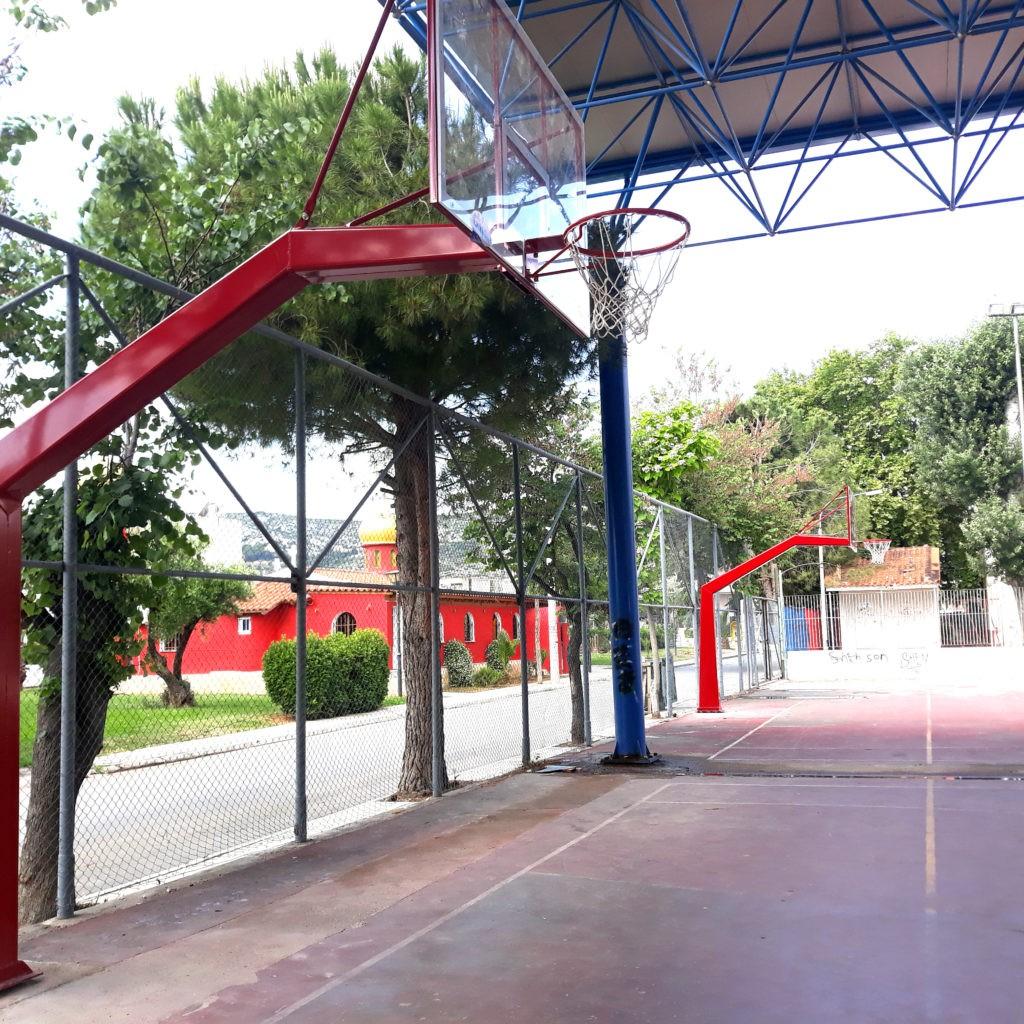 Αντικατάσταση μπασκετών σε ανοιχτά γήπεδα του Αγίου Νικολάου και της Ζωφριάς