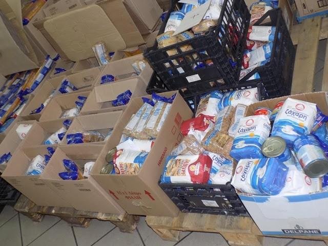 Κρέας, τρόφιμα και είδη πρώτης ανάγκης διανεμήθηκαν σε 1200 άπορες οικογένειες του Δήμου Φυλής