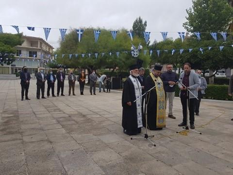 """Λιτά και κατανυκτικά εορτάστηκε η Εθνική Επέτειος του """"ΟΧΙ"""" στο Ζεφύρι"""