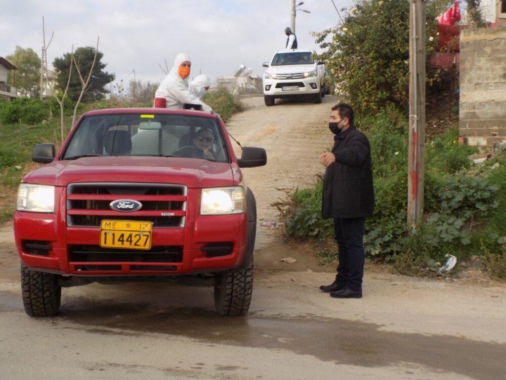 Ευρεία επιχείρηση απολύμανσης στο Ζεφύρι, από συνεργεία του Δήμου και της Περιφέρειας