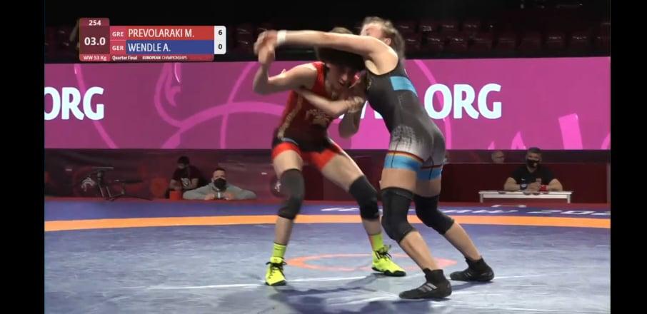 Στη διεκδίκηση της κορυφής της Ευρώπης η Μαρία Πρεβολαράκη – Στη μάχη του Ευρωπαϊκού 3 ακόμα Έλληνες αθλητές