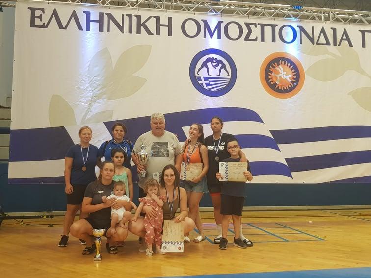 """Πρωταθλήτριες Ελλάδος 2021 ανακηρύχθηκαν οι Γυναίκες του """"Α.Ο. Ευπυρίδαι"""" Άνω Λιοσίων!"""
