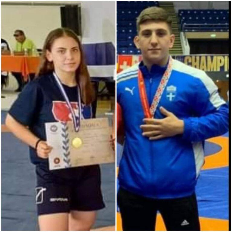 Δύο πρωταθλητές από τον Δήμο Φυλής στο Παγκόσμιο Πρωτάθλημα Πάλης Παίδων/Κορασίδων