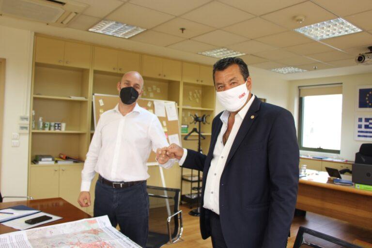 Συνάντηση Δημάρχου Φυλής με Υφυπουργό Περιβάλλοντος για την ανάδειξη της Πάρνηθας